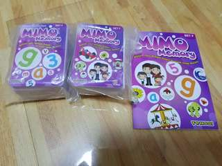 Tensai Shichida Mimo Memory Set F