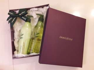 Innisfree body lotion and body cleanser-NEW!