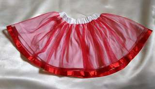 Rok tutu baby girl red