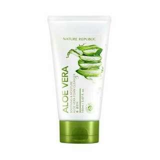 Nature Republic Aloe Vera Foam Cleanser
