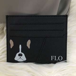 custom card holder - puppy