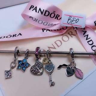 Authentic Pandora Charms