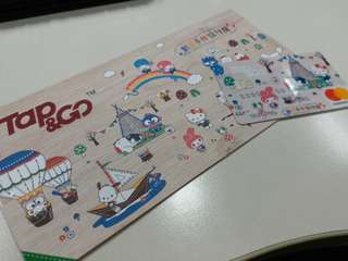 hello kitty sanrio tap & go 卡♡