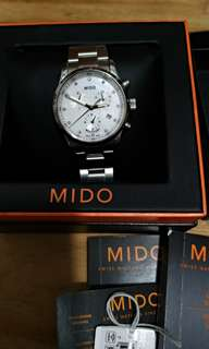 Mido diamond watch, Quartz