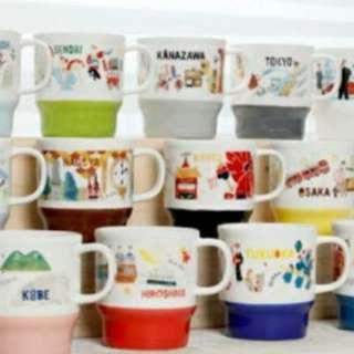 2018 Starbucks Japan Geography Collection Series Mug