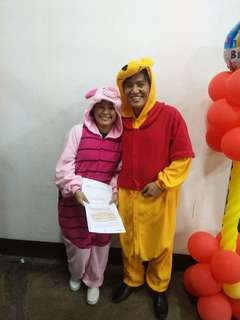 Onesies Winnie the Pooh and Piglet (Character costume)