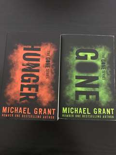 Hunger The GONE series (both books at $25)