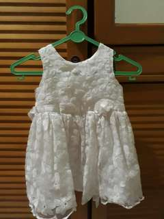 White Dress for baby 6-12 months