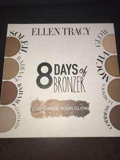 🥑8 days of bronzer (Ellen Tracy) bronzer palette