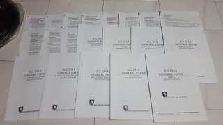 J2 H1 GP General Paper Compilation Notes