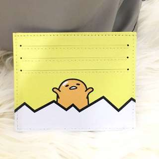 custom card holder - gudetama