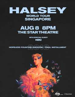 WTS Halsey Singapore Concert Ticket