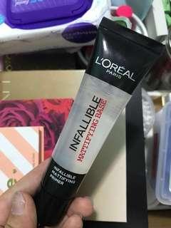 ✨L'Oréal Infallible Mattifying Base