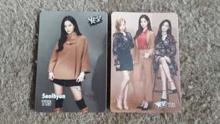 Girls' Generation 少女時代 TTS yes card (不散賣)