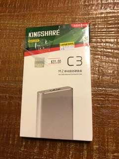 M.2 SSD External Enclosure Case