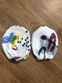 Baby mittens handmade