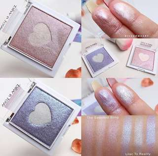 Wet N Wild Megaglo Highlighting Powder - lilac to reality & the sweetest bling