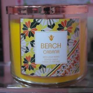 Beach Cabana Scented Candle BBW