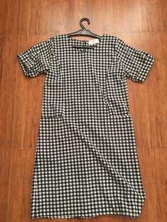 BAYO Checkered Dress