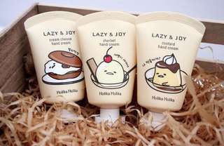 🚚 HOLIKA HOLIKA LAZY AND JOY HAND CREAM