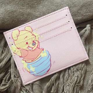 custom card holder - baby pooh