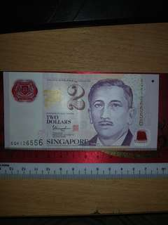 Lucky Numbers Singapore Notes