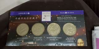 The official millennium medal collections