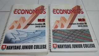 J2 H2 Economics Lecture Notes + Revision package