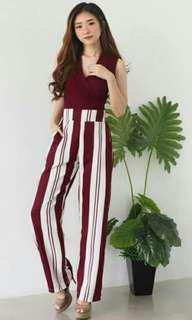 Stripes HW Pants