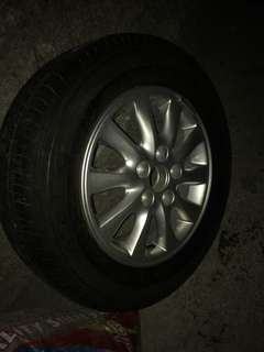 Innova Tire/with mags brand new