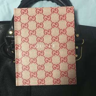 Limited Edition Gucci Notebook
