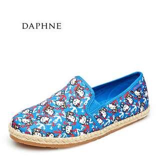 🚚 Daphne/達芙妮/HelloKitty平底舒適優美女單鞋布鞋全新清倉 挑戰最低價 任選3雙免運費