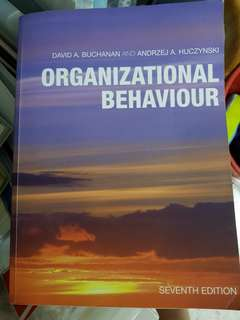 Organizational behaviour (seventh edition)