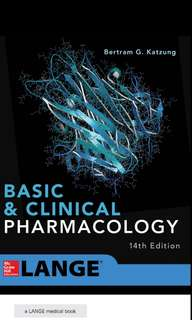 Katzung Basic Pharmacology 14th Ed PDF Copy (latest)