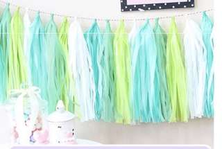 Paper Tassels - Party Decoration