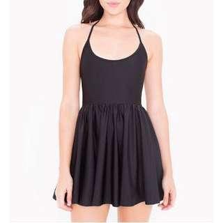 American Apparel Replica Black Hater Skater Dress