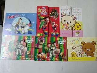 (贈品!!)Toy's Story及鬆弛熊聖誕卡🈹(全新)(買滿$40送一張)