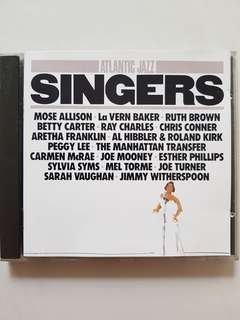 CD Atlantic Jazz - Singers