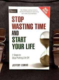 # Highly Recommended《New Book Condition + How To Stop Procrastinate And Start Living Your Life》Jeffery Combs - STOP WASTING TIME AND START YOUR LIFE : 7 Steps to Stop Putting Life off
