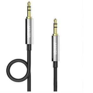Anker 3.5mm 4-FT Gold-Plated Auxiliary Audio Stereo Headphones AUX Cable