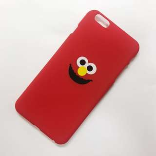 Elmo 手機殼 紅色 iphone case 6s plus