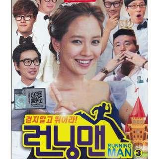 Korean Running Man Season 3 DVD