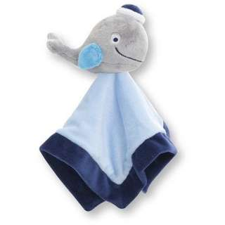 Baby Boy Nursery Blanket (Smilling Whale) 安抚巾