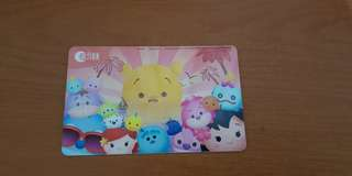 🍒Tsum Tsum BN Ezlink Card🍒                              💟with $5 Stored Value💟                                                                                                              💜 💙 includes mailing💙💜