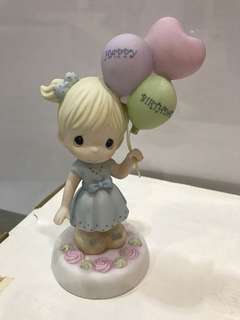 Precious Moments Figurine 112010 may your birthday be as special as you