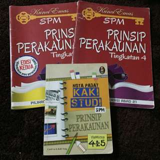 ACCOUNTING SPM Books
