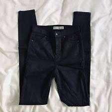 Top shop Black Coated Joni Jeans