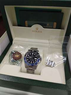 Rolex GMT Master 2 Batman 116710BLNR