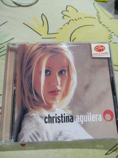 Pop CD - Christina Aguilera self titled debut album