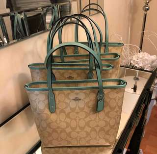 Coach Mini City Zip Tote